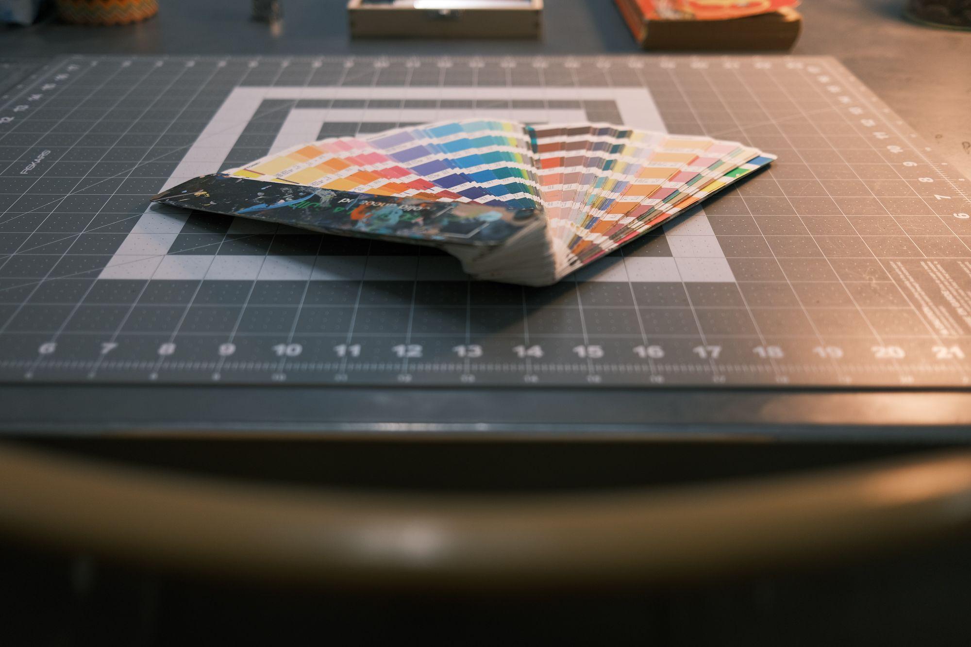 Pantone Book for Screen Printing