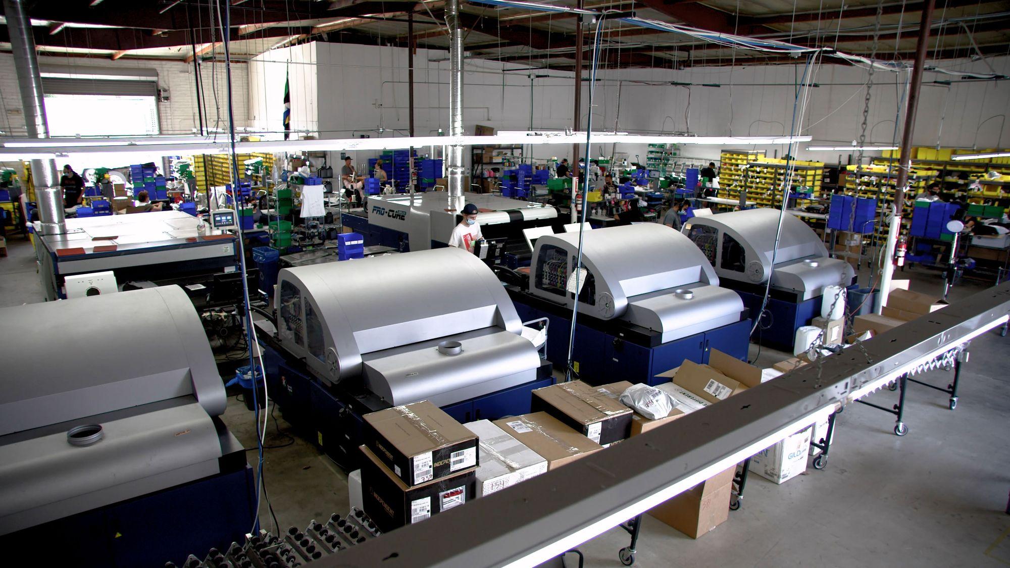 Image of Print On Demand Facility Apliiq