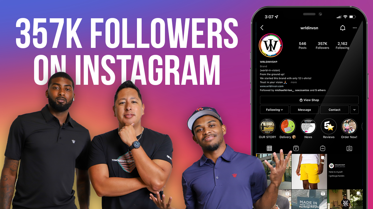 From The Ground Up - How To Build Your Brand On Instagram