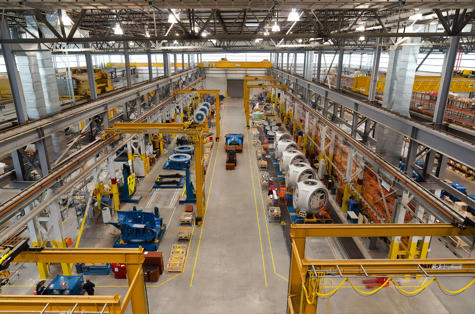 Image of A Factory Floor